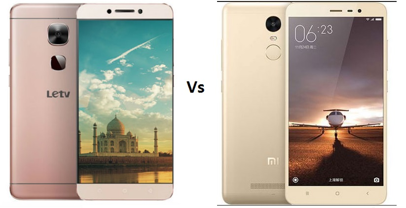 Le 2 vs Redmi Note 3