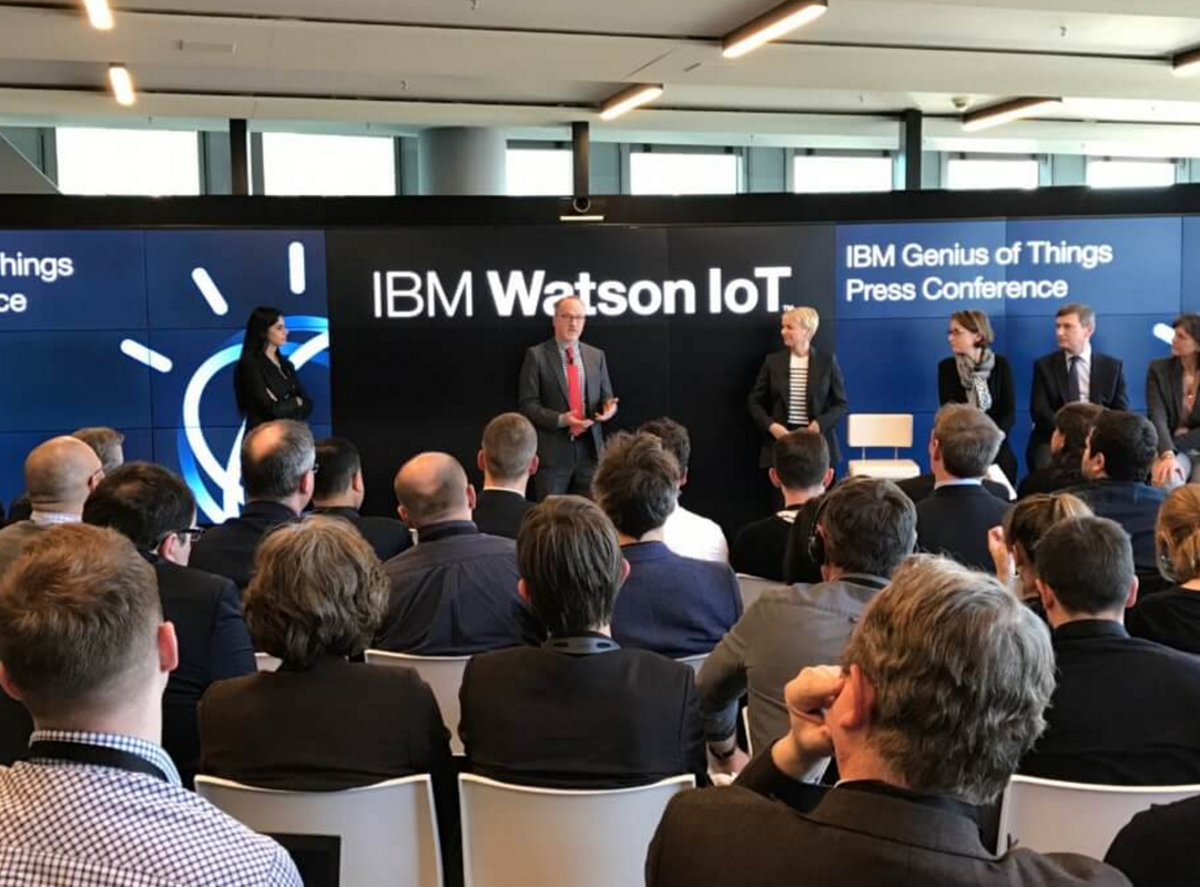 AI's emerging role in IoT highlighted at IBM Genius of Things event