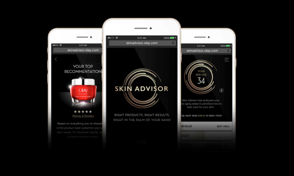 Artificial Intelligence Based Skin Advisor from Olay