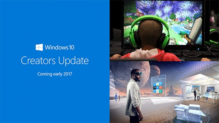 Windows 10 Creators Update is quite a small major update2