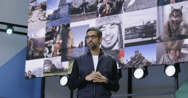 Sundar Pichai Sees Google's Future in the Smartest Cloud