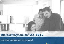 Number Sequence Framework in AX 2012 R3