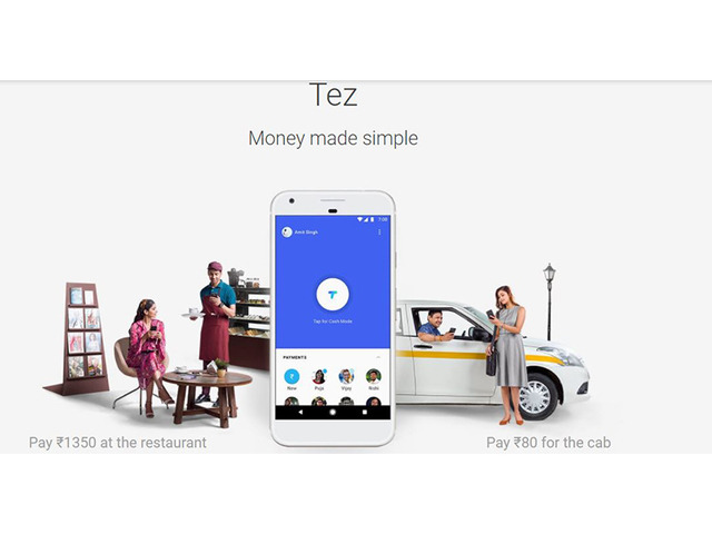 Google launches India mobile payments app Tez1