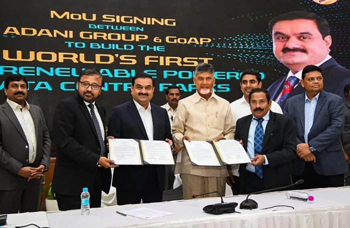 Adani Group Invests Rs 70,000 cr in Andhra Pradesh data centres 9