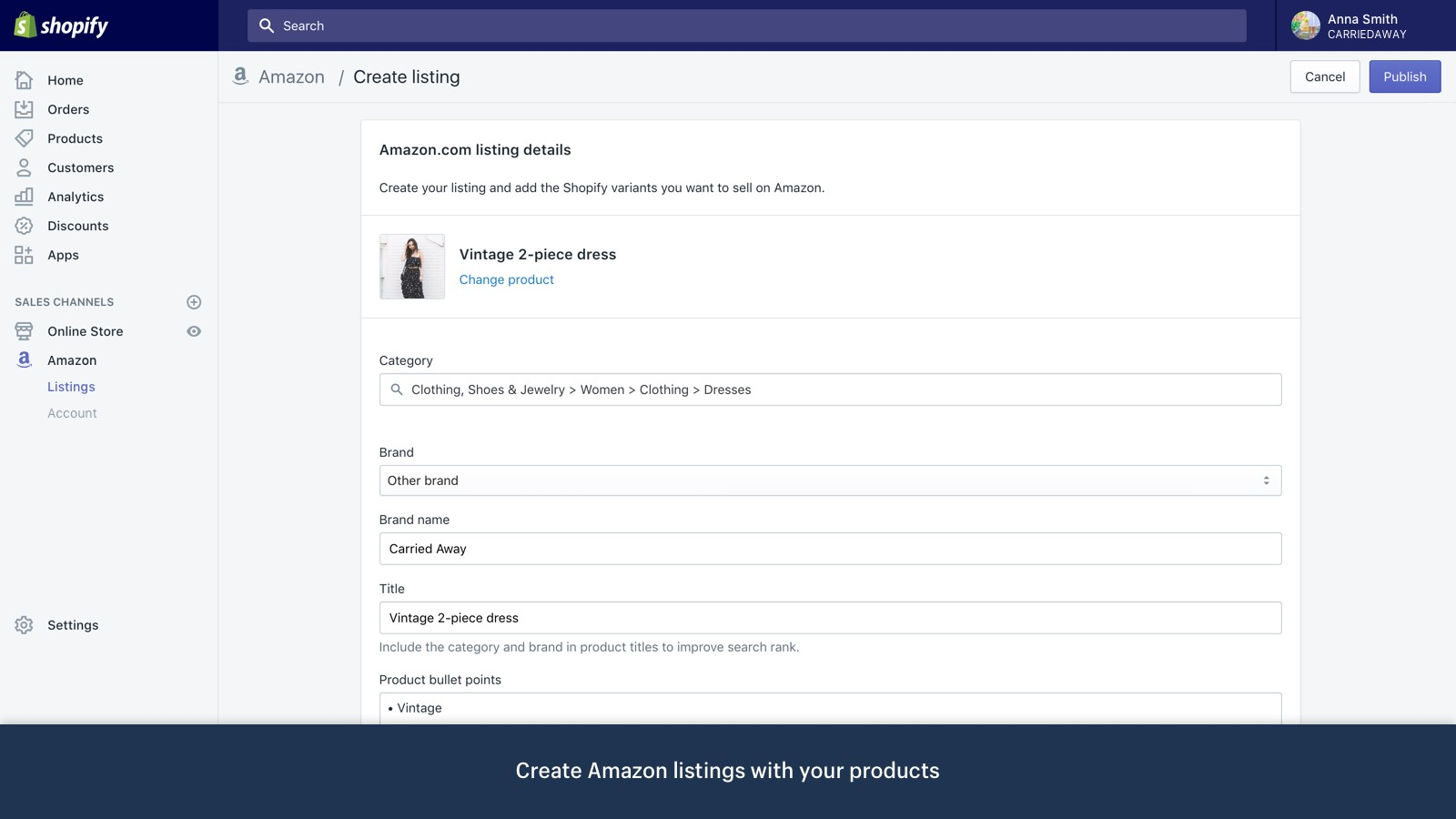 Guide on Integrating Shopify Products on Amazon 1