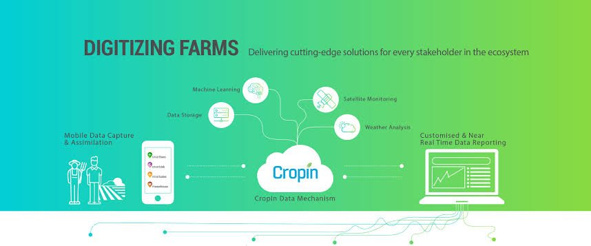Central government partners with CropIn for Crop Cutting Experiments (CCE) 7