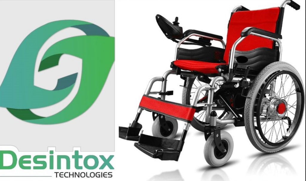 Desintox Technologies to make electric wheelchair 5