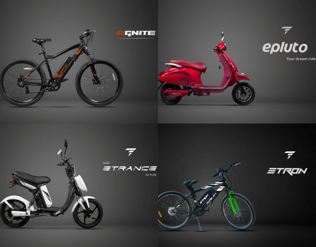 PURE EV launches long-range high-performance Electric Two-Wheelers 3