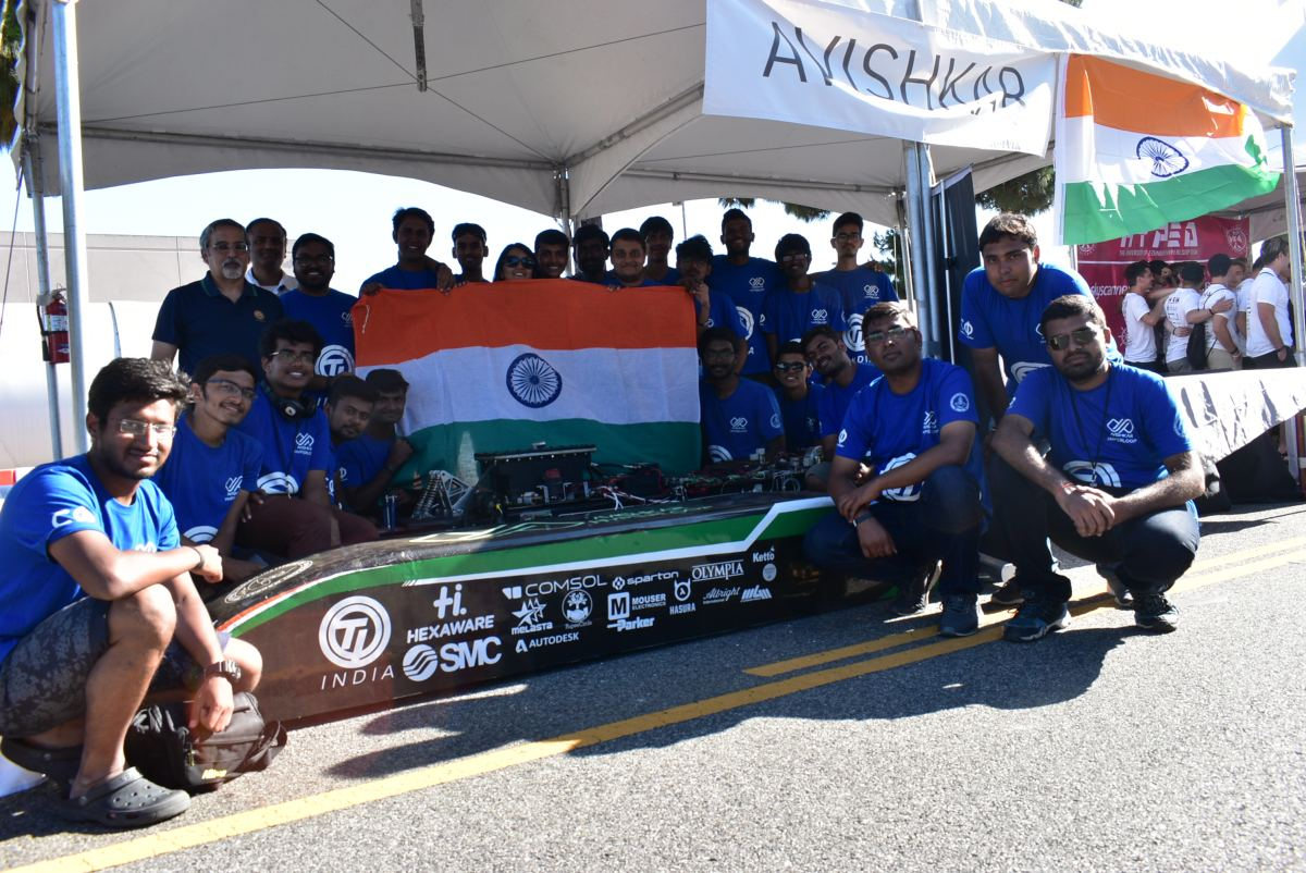IIT Madras Avishkar Hyperloop makes Strong Debut in SpaceX Global Competition Finals 1