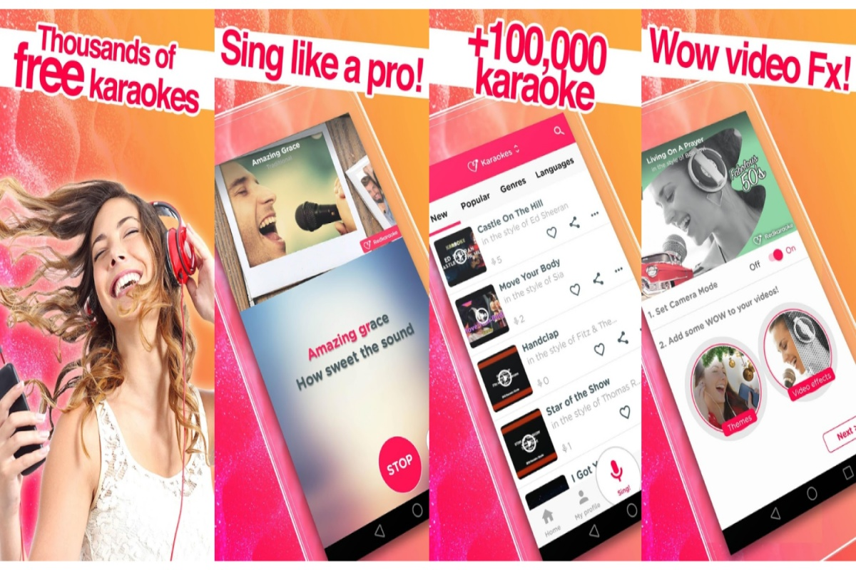 10 Popular Karaoke Singing Apps for Android & IOS users