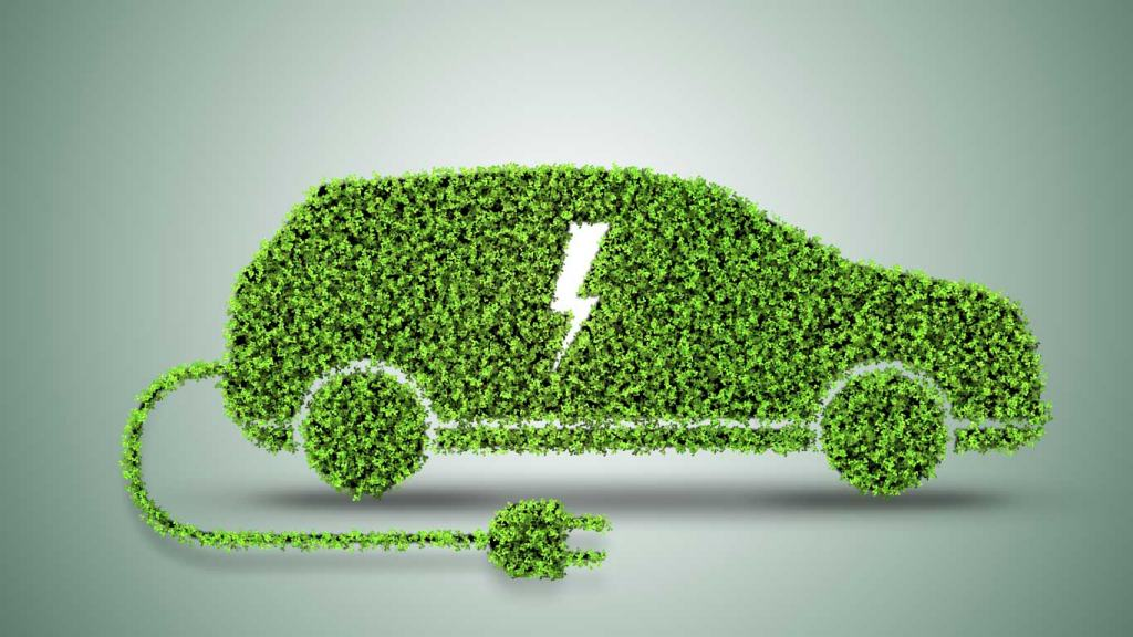 Electric Car and Green IOT