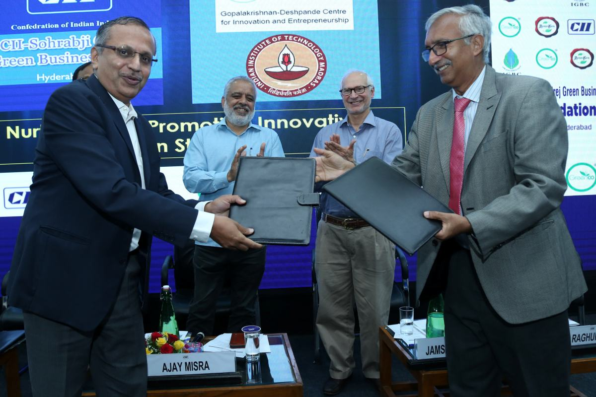 IIT Madras and CII to collaborate to promote Innovative Green Startups 21
