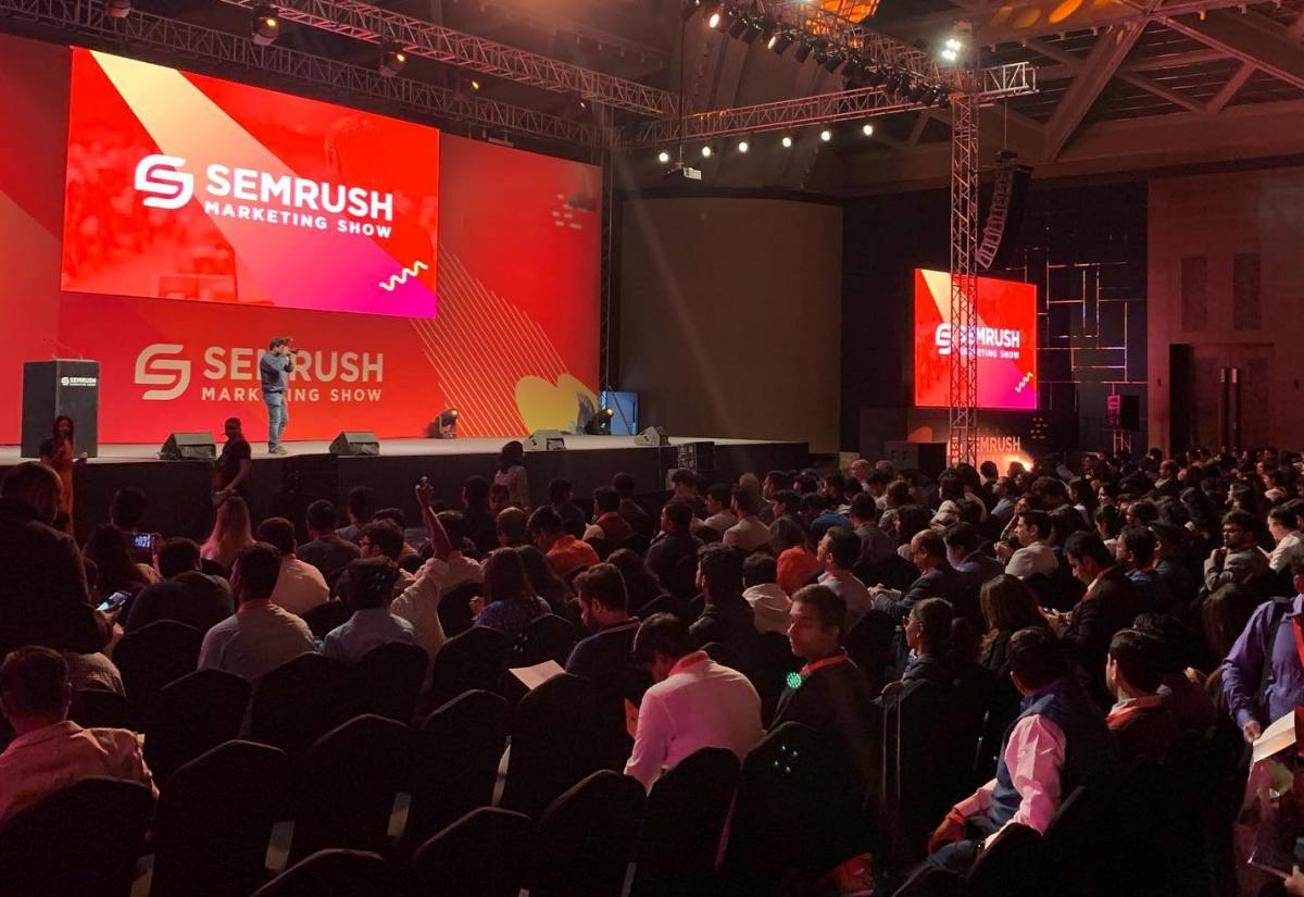 SEMrush hosted biggest International Digital Marketing show in India 13