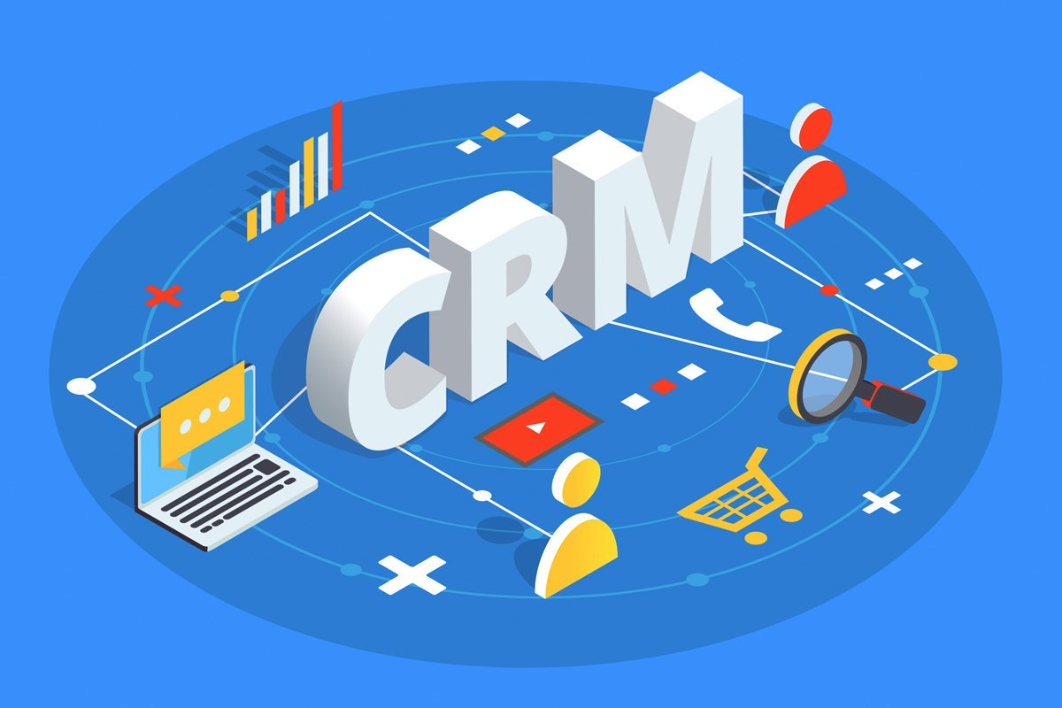 CRM software in a banking and finance industry - six groups: 18
