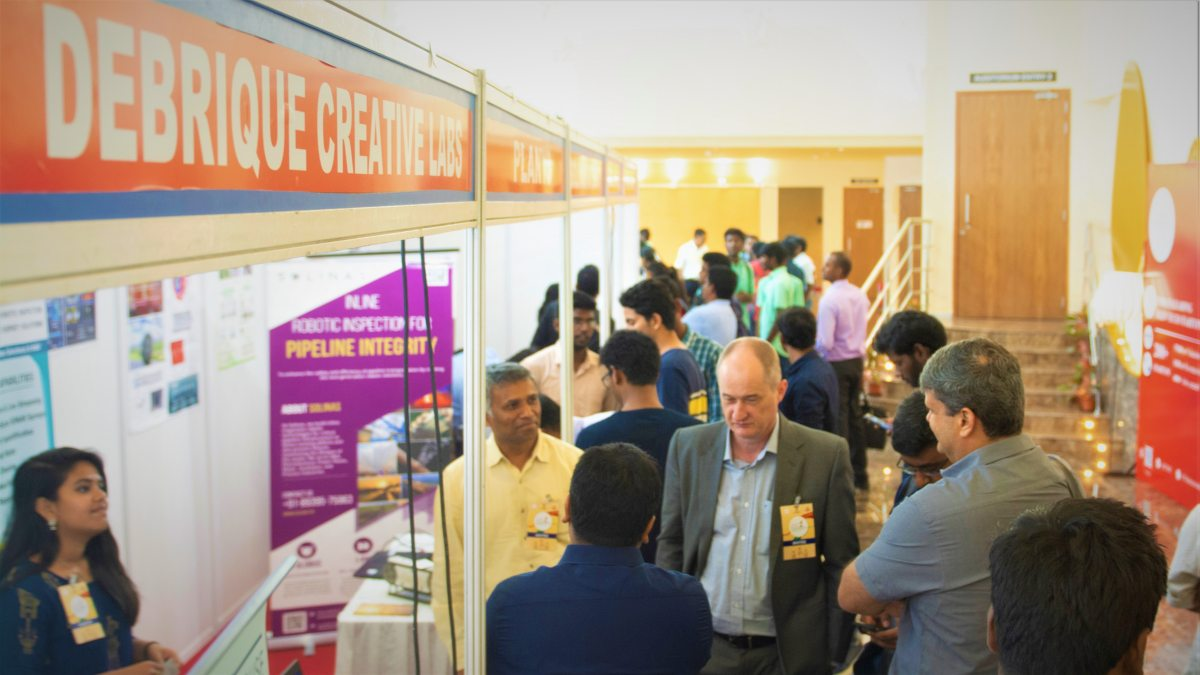 IITM Incubation Cell Hosts 'Start-up Exhibition' 7