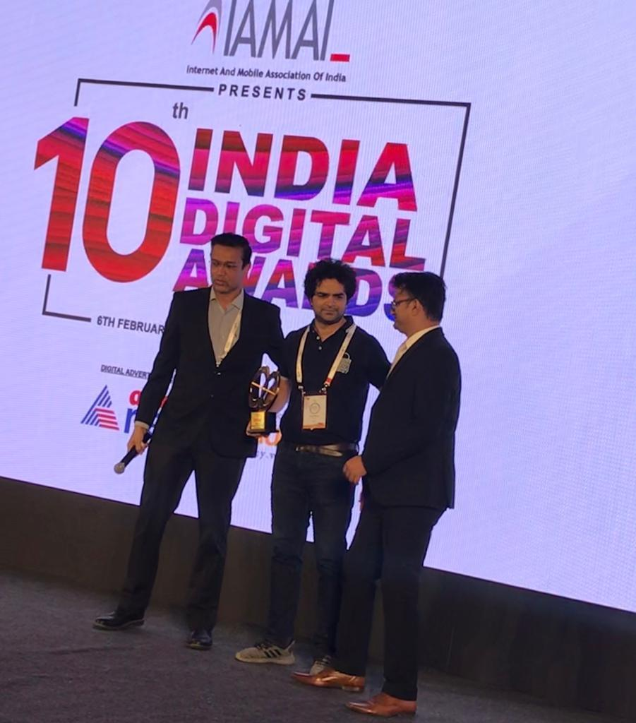 Signzy wins IAMAI's Most Innovative Fintech Data Solution Provider Award 2020 for VideoKYC 10