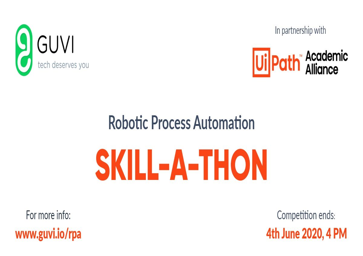 GUVI ties up with UiPath to host 'Robotic Process Automation' event 22