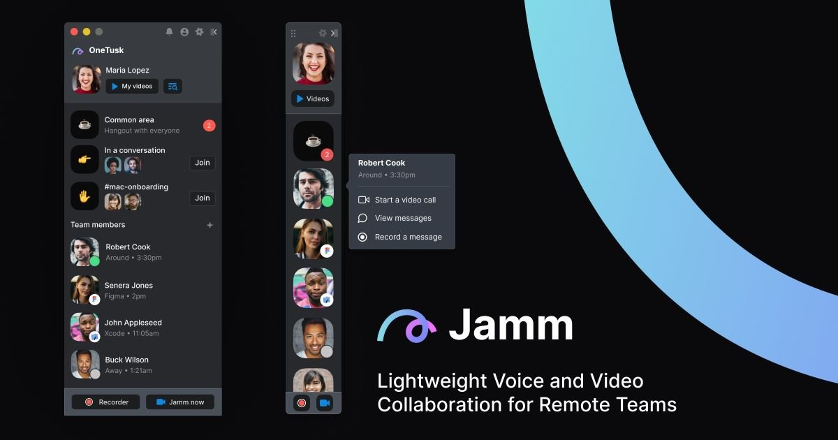 Lightweight Streamlining Collaboration and building culture App - Jamm 1