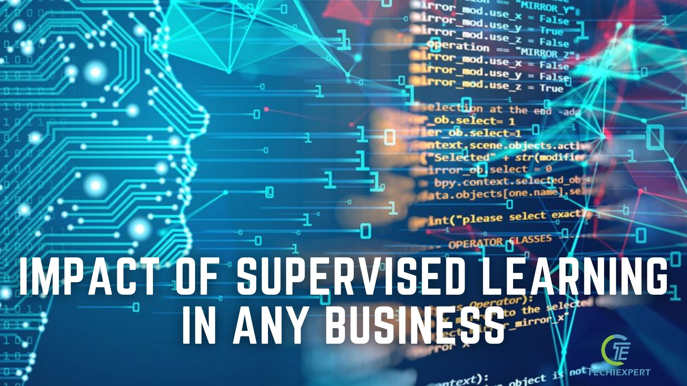 impact of supervised learning in any business