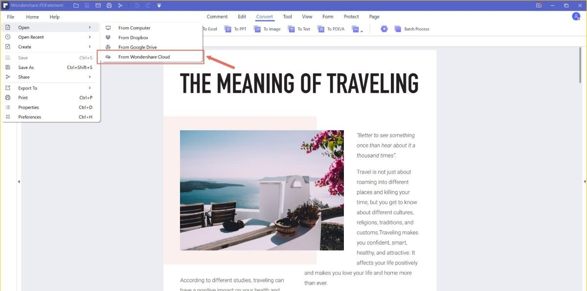 Annotate and Collaborate on PDF online with Wondershare Document Cloud 6