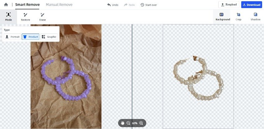 FocoClipping Review - Why It is an Easiest Free Online Background Remover 3